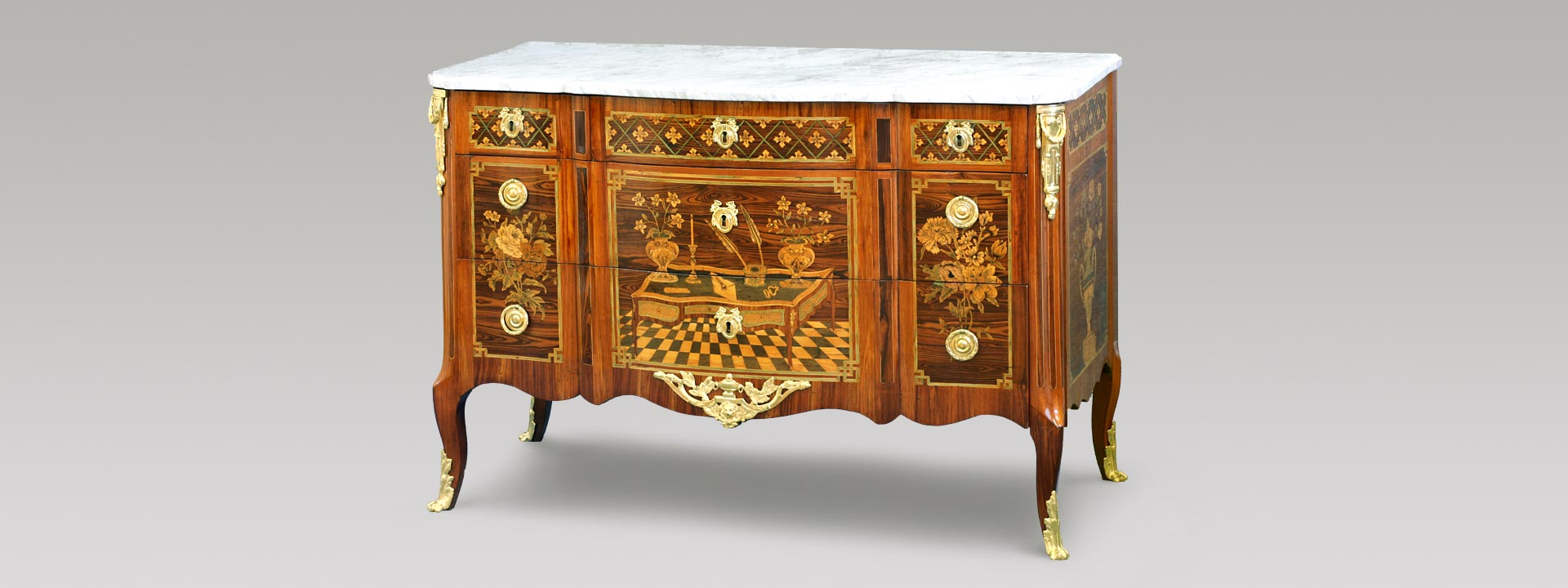 ebniste restaurateur de meubles louis xvi conservation restauration de mobilier louis xvi jean yves le bot camblon saint jean la poterie 56 bretagne